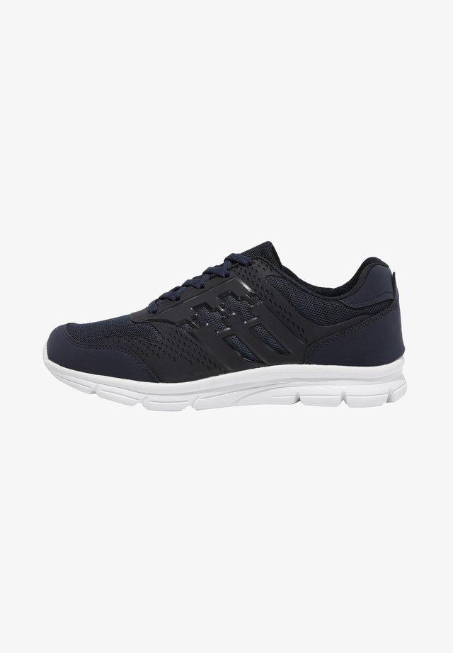 Sneakers laag - navy blue