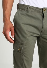 YOURTURN - Cargo trousers - olive - 3