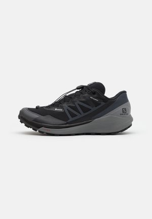 SENSE RIDE 4 INVISIBLE GTX - Trail running shoes - black/quiet shade