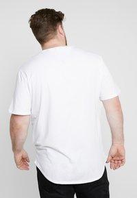 Only & Sons - ONSMATT LONGY TEE 3-PACK - Basic T-shirt - white/black/light grey melange - 2