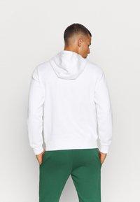 Lacoste Sport - CLASSIC HOODIE - Hoodie - white - 3