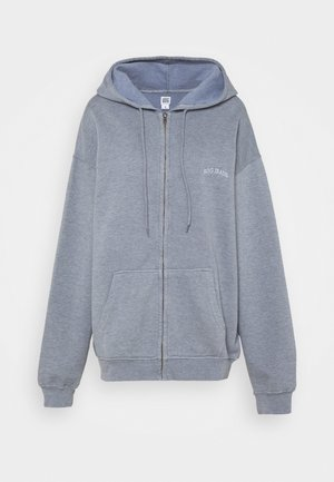 ZIP THROUGH HOODIE - veste en sweat zippée - pacific blue