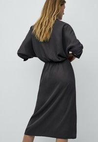 Massimo Dutti - Robe d'été - dark grey - 1