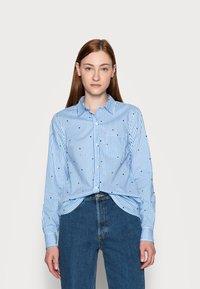Gap Tall - Button-down blouse - navy - 0