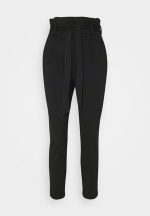 ONLPOPTRASH LIFE YO EASY - Trousers - black