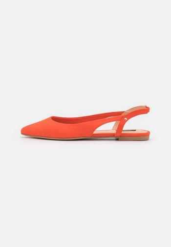 ONLANAS LIFE - Slingback ballet pumps - coral