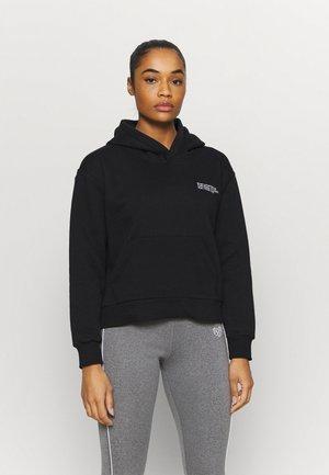 SIGNATURE HOODIE - Sweatshirt - black