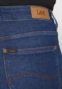 Lee - SCARLETT HIGH - Jeansy Skinny Fit - dark-blue denim - 4