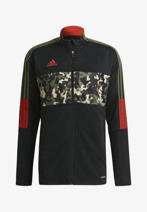TIRO TK JKT AOP - Træningsjakker - black