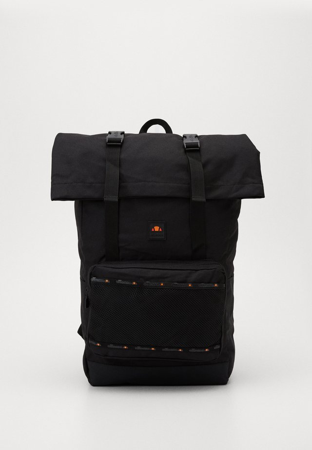 SAUL ROLL TOP BACKPACK - Batoh - black