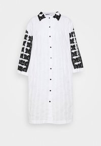 TOMOKO DRESS - Shirt dress - white