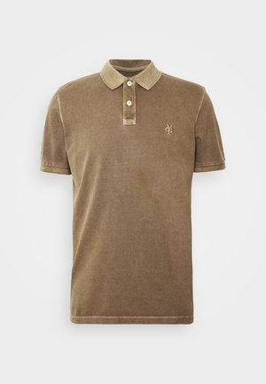 Polo shirt - cinnamon