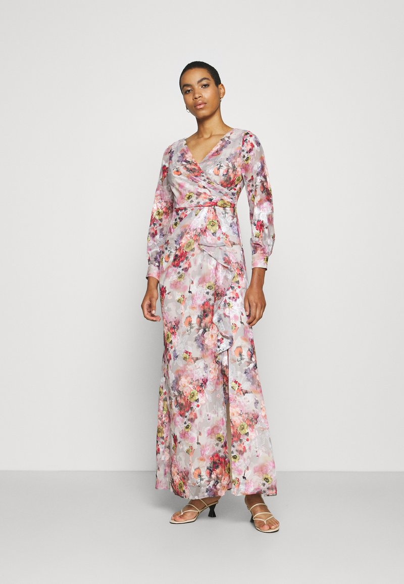 Adrianna Papell - FLORAL PRINTED GOWN - Occasion wear - rose/multi