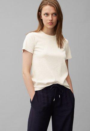 Basic T-shirt - sandy melange