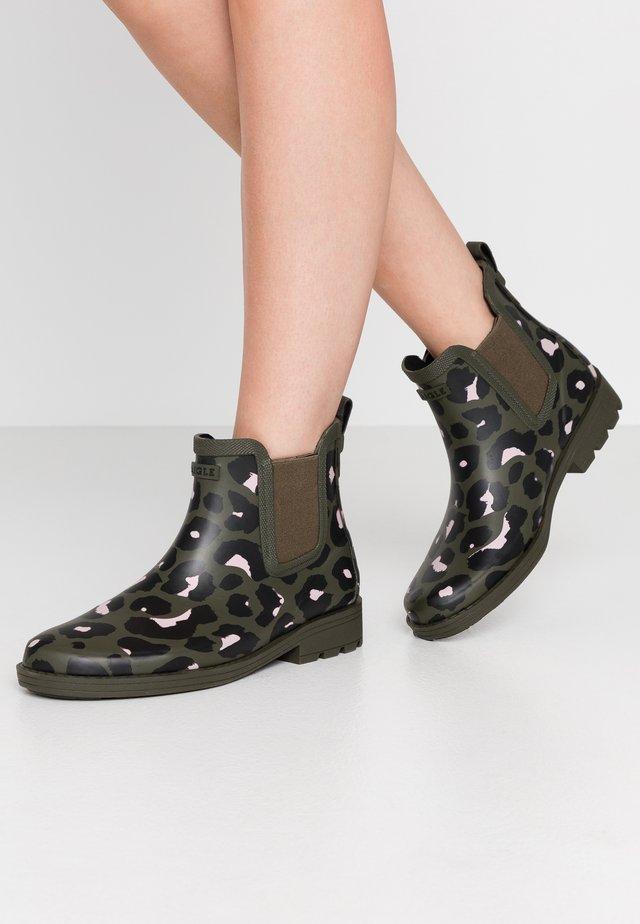 CARVILLE PRINT - Gummistøvler - kaki