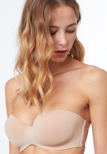 Multiway / Strapless bra - beige