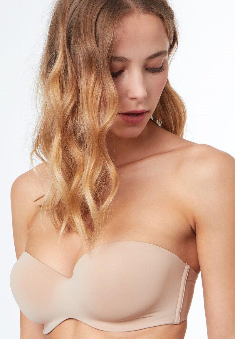 Etam - Multiway / Strapless bra - beige