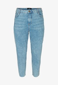Zizzi - Relaxed fit jeans - light blue - 2