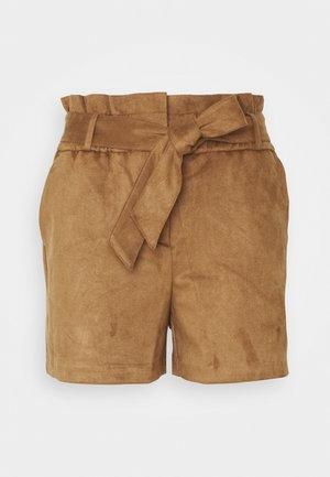 VMSUMMER SABINA - Shorts - cognac
