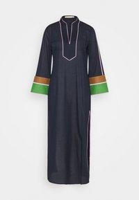 COLOR BLOCKED LONG CAFTAN - Maxi dress - navy