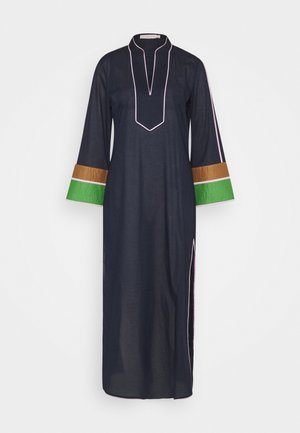 COLOR BLOCKED LONG CAFTAN - Maxi šaty - navy