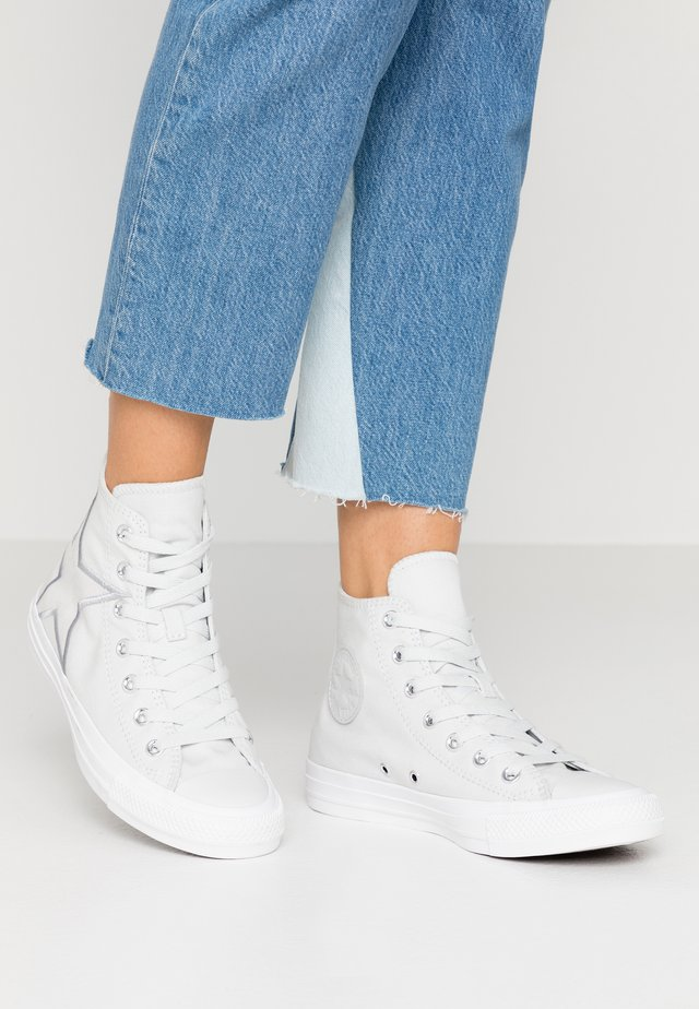 CHUCK TAYLOR ALL STAR PATCH - High-top trainers - photon dust/silver/white