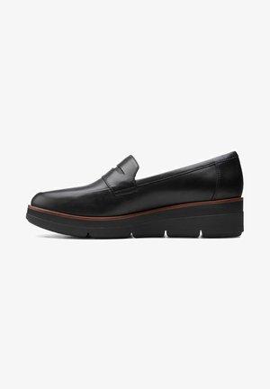 SHAYLIN - Slip-ons - black leather