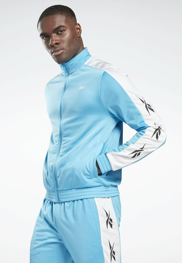 VECTOR ELEMENTS TRACKSUIT - Sweatjacke - turquoise