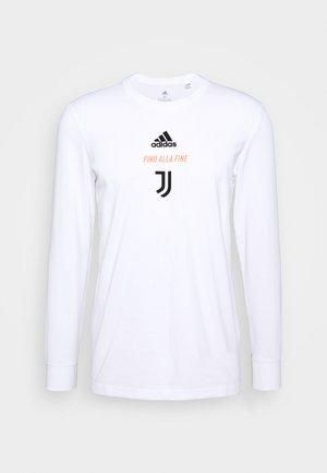 JUVENTUS SPORTS FOOTBALL LONG SLEEVE - Club wear - white/black