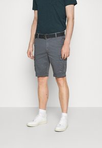 Petrol Industries - WITH BELT - Shorts - wolf grey - 0