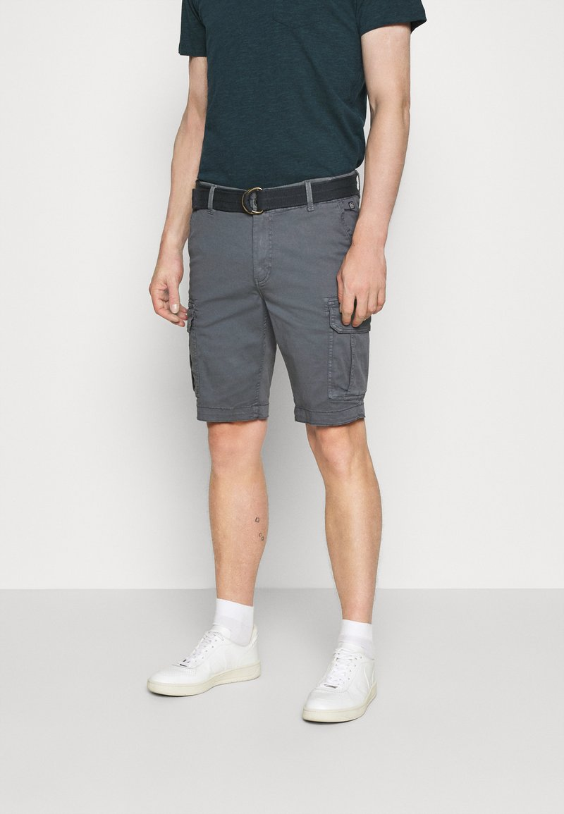 Petrol Industries - WITH BELT - Shorts - wolf grey