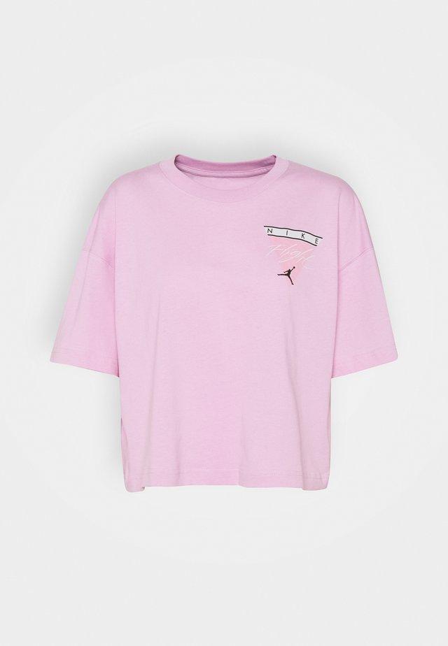 ESSEN TEE - Triko spotiskem - arctic pink