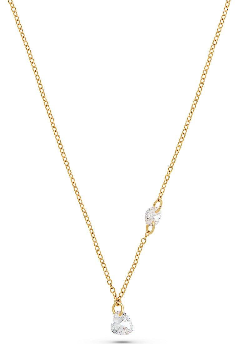 QOOQI - MY VALENTINE  - Necklace - gelbgold