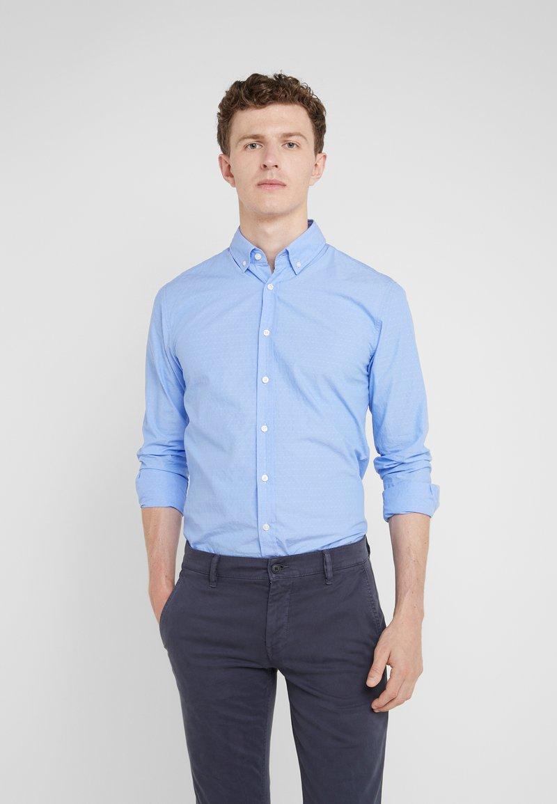 BOSS - MABSOOT SLIM FIT - Shirt - light blue
