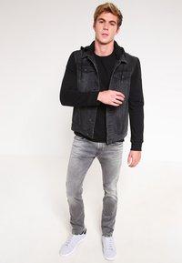 Replay - HYPERFLEX ANBASS - Slim fit jeans - grey denim - 1