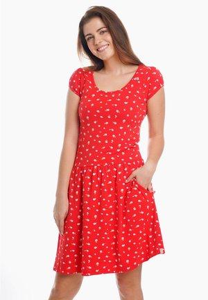 ROSI - Jersey dress - red