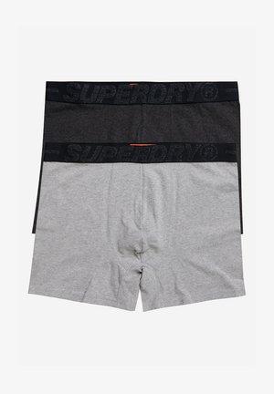 2PACK - Pants - dark marl multipack