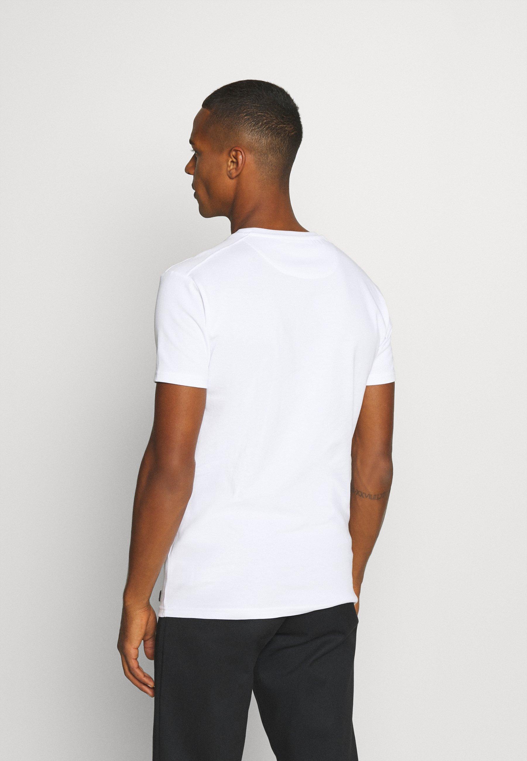 AMICCI SORA  - Print T-shirt - white pAtSl