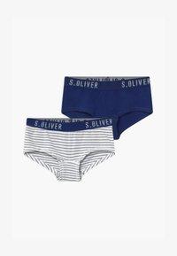s.Oliver - 2 PACK - Kalhotky - royal blue - 0