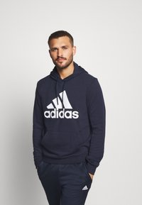 adidas Performance - ESSENTIALS SPORTS INSPIRED HOODED - Mikina skapucí - legend ink - 0