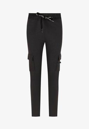 Leggings - Trousers - almost black