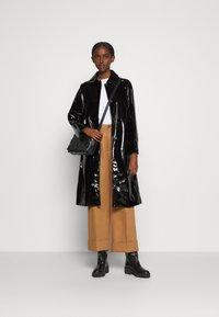 Bruuns Bazaar - JOSETTE GABY COAT - Halflange jas - black - 1