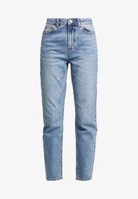ONLY - ONLEMILY ANKLE - Džíny Straight Fit - medium blue denim - 4