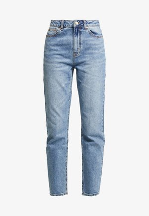 ONLEMILY ANKLE - Straight leg -farkut - medium blue denim