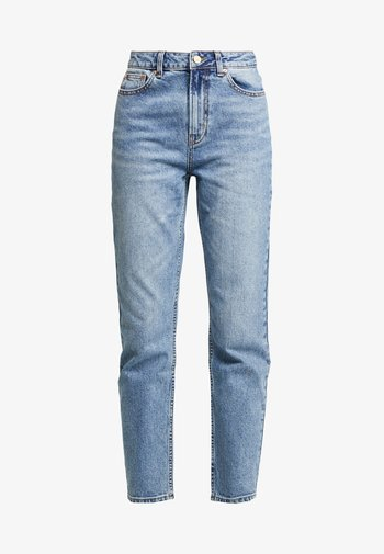 ONLEMILY ANKLE - Straight leg jeans - medium blue denim