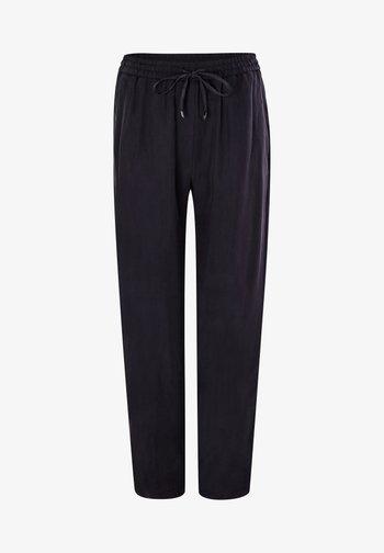 LOOSE FIT - Trousers - dark navy