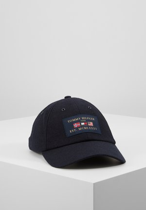 OUTDOORS PATCH CAP - Cap - blue
