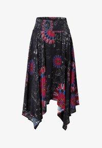 Desigual - FAL_BRINDISI - A-line skirt - blue - 4