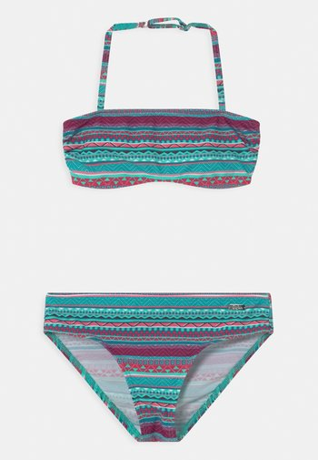 BANDEAU SET - Bikini - turquoise