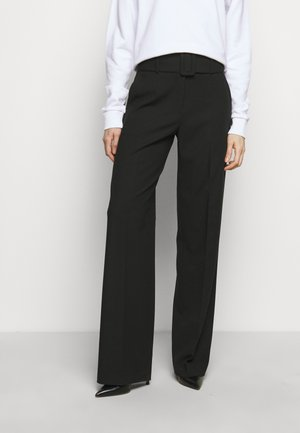HULEA - Trousers - black